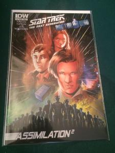 Star Trek The Next Generation/Doctor Who #3 Assimilation