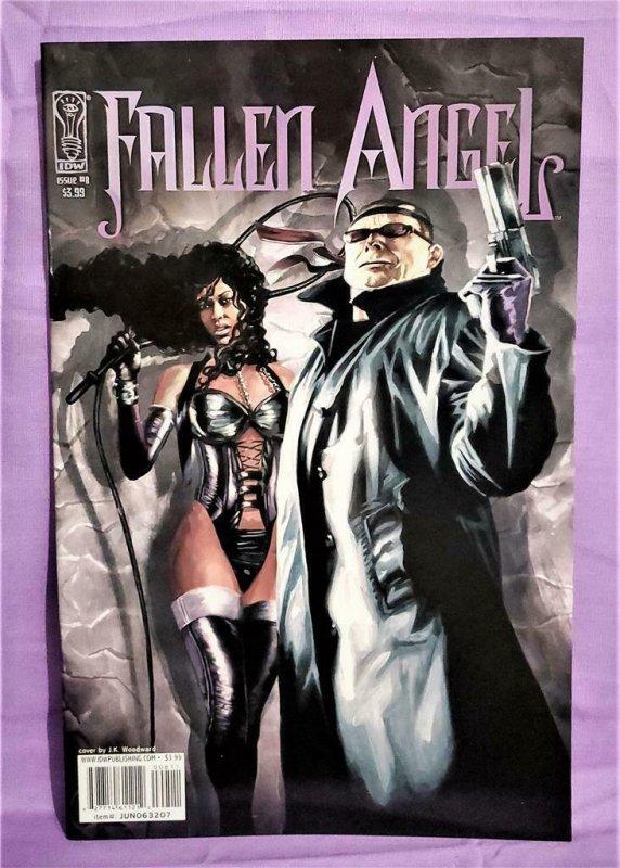 Peter David FALLEN ANGEL #6 - 10 J. K. Woodward Sachs and Violens (IDW, 2006)!