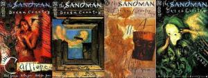 SANDMAN (1989)17-20 Dream Country Gaiman, Vess, Doran