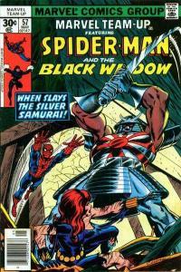 Marvel Team-Up (1972 series) #57, Fine (Stock photo)