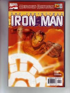 Iron Man Sunburst Cover #1 (Feb-98) NM Super-High-Grade Iron Man