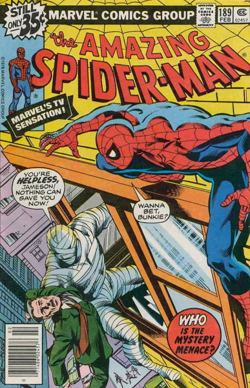 Amazing Spider-Man, The #189 VF/NM; Marvel | save on shipping - details inside