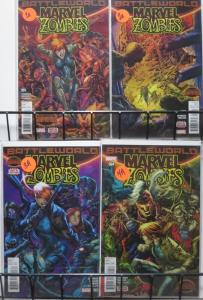 MARVEL ZOMBIES (Marvel, 2015) #1-4 VF-NM COMPLETE! Secret Wars! Battleworld!