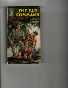 3 Books The Far Command The Trial of Terra The Hostiles Western Adventure JK8