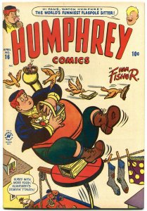 Humphrey Comics #16 1950- Flagpole sitter- Harvey golden Age VF
