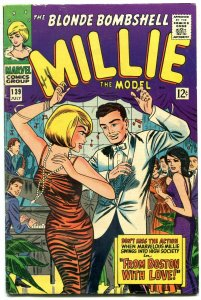 Millie The Model #139 1966-Marvel-From Boston With Love-fashion-paper dolls-FN