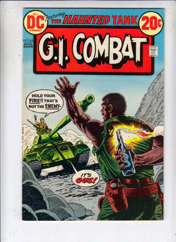 G.I. Combat #163 (Aug-73) NM/NM- High-Grade The Haunted Tank