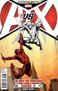 AVENGERS VS. X-MEN (AVX) (2012 Series) #9 AVENGERS Near Mint Comics Book