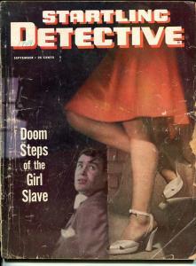 STARTLING DETECTIVE-SEPT 19491954-SPICY-MURDER-VICE-SEX-RAPE-good G