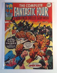 Complete Fantastic Four #29 (1978) Magazine Size Marvel UK 6.5 FN+ Comic Book