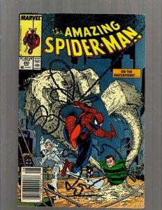 Amazing Spider-Man # 303 FN Marvel Comic Book Todd McFarlane Venom Goblin J450