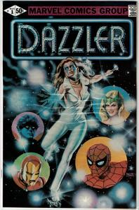 Dazzler #1 - ERROR PRINT, NM