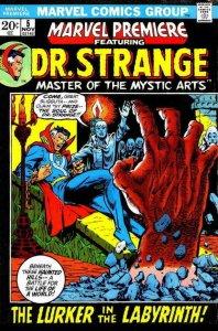 MARVEL PREMIERE #5,  FN, Dr. Strange, Lurker, 1972, more Marvel in store