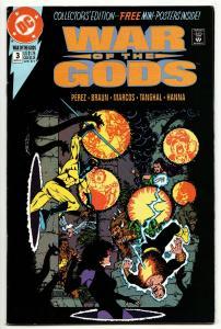 War Of The Gods #3 (DC, 1991) FN/VF