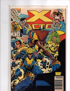 Marvel Comics X-Factor Vol. 1 #87 Peter David Story Joe Quesada Cover & Art