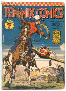 Tom Mix Comics #7 1941- Ralston Straight Shooters- Fred Meagher G