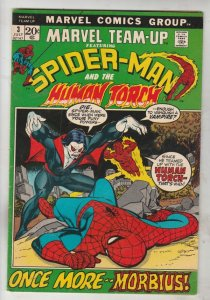 Marvel Team-Up #3 (Jul-72) VF/NM High-Grade Spider-Man