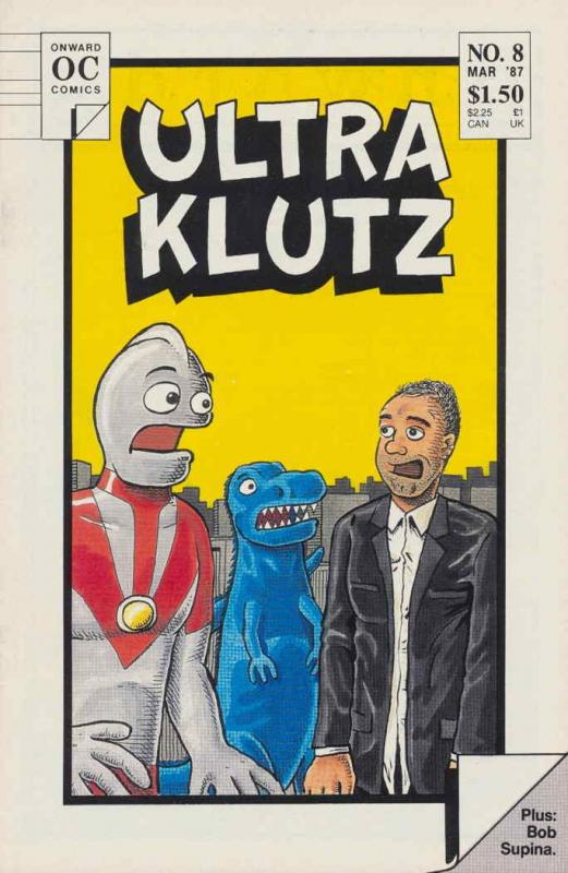 Ultra Klutz #8 VF/NM; Onward | combined shipping available - details inside