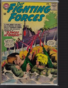 Our Fighting Forces #86 (DC, 1964) VG/FN