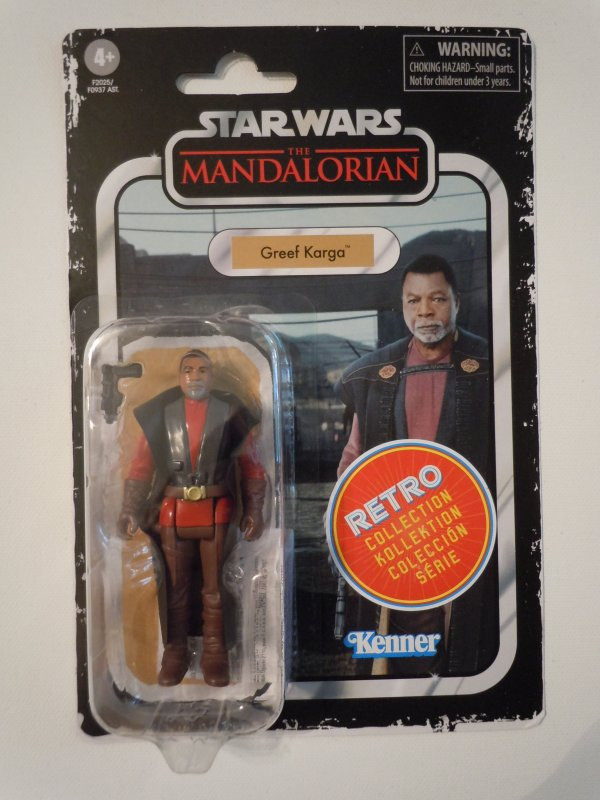 Star Wars The Retro Collection Greef Karga 3.75-inch Scale Action Figure
