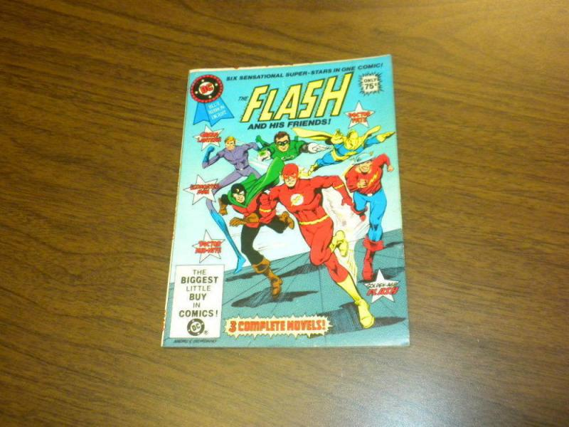 FLASH AND HIS FRIENDS, VF/NM, DC Blue ribbon Digest, 1981 more in store