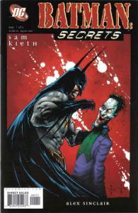 Batman: Secrets #1 VF/NM; DC | save on shipping - details inside