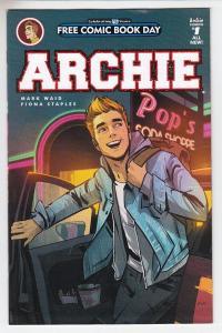 Archie  Unstamped NM- FCBD 2016