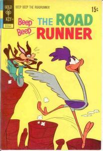 BEEP BEEP THE ROAD RUNNER (GK) 32 VF Oct. 1972 COMICS BOOK