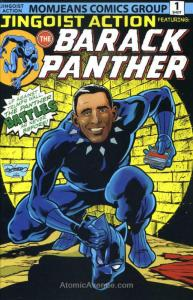 Barack Panther #1 VF/NM; Antarctic | save on shipping - details inside