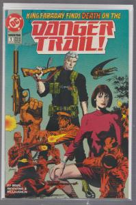 DANGER TRAIL #1 - DC COMICS - BAGGED,& BOARDED