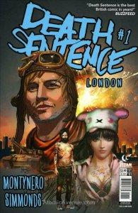 Death Sentence London #1 VF; Titan | save on shipping - details inside