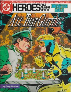 Mayfair DC Heroes Role Playing Module: Booster Gold -- All that Glitters VG