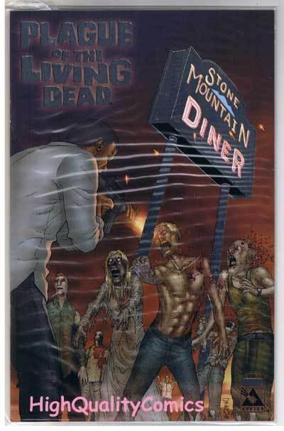 PLAGUE of the LIVING DEAD #1, NM+, Zombies, LIMITED, 2007, more Horror in store