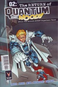 Q2: The Return of Quantum and Woody #4, VF (Stock photo)