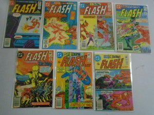 The Flash lot 25 different issues avg 5.0 VG FN (1981-85 1st Series)