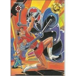 1993 Valiant Era MAGNUS ROBOT FIGHTER #17 - Card #18