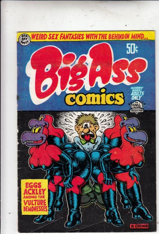 Big Ass Comics #1 (Jan-69) VG Affordable-Grade Eggs Ackley