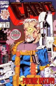 Cable (1993 series) #1, NM (Stock photo)