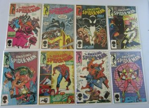 Amazing Spider-Man lot from:#253-295 15 different books 9.0 NM (1984 to 1987)