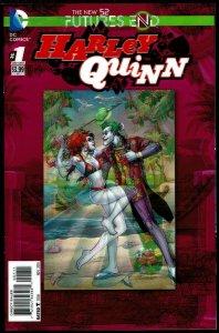 Futures End Harley Quinn 3-D Cover (2014, DC) 9.6 NM+