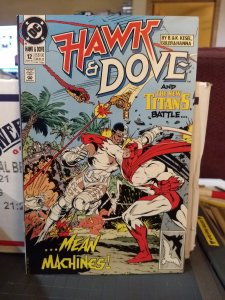 Hawk and Dove and The New Titans #12 NM