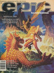 Epic Illustrated #5 VG; Epic | low grade comic - save on shipping - details insi