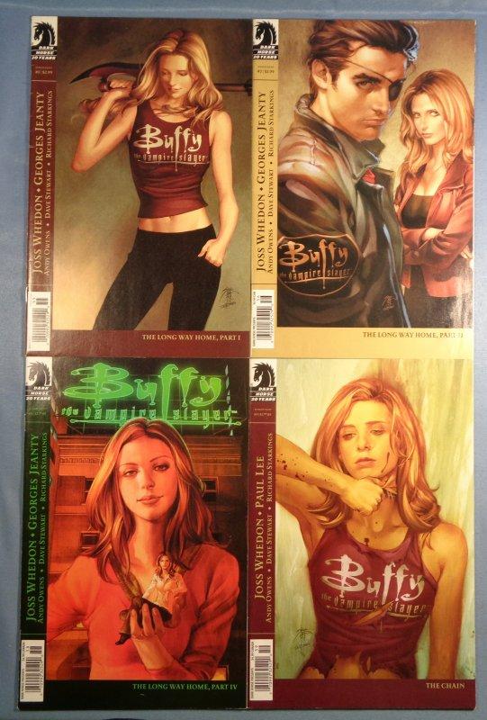 Buffy The Vampire Slayer Lot #1 #2 #4 #5 Season Eight 8 Dark Horse