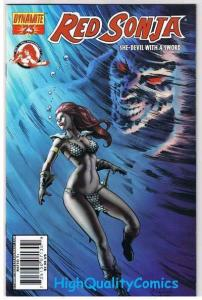 RED SONJA #23, VF, Homs, Femme Fatale, Robert Howard, 2005, more RS in store