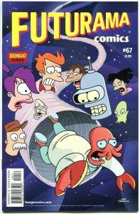 FUTURAMA #67, NM, Bongo, Fry, Bender, Leela, Prof Farnsworth, more in store