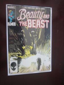 Beauty and the Beast (1985 Marvel) #1 - 8.0 - 1984