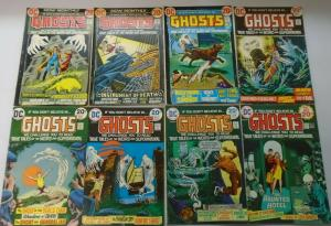 DC Horror Comic Lot Ghosts From:#10-110, 47 Different Average 4.0 VG (1973-1982)