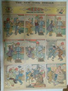 Percy The Robot Sunday Page by HC Greening from 11/17/1912 Full Page Size Rare !