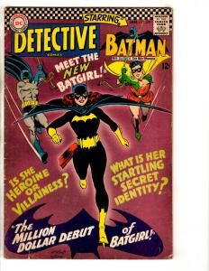Detective Comics # 359 FN DC Comic Book Feat. Batman 1st Batgirl Appearance JG9