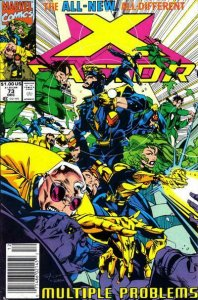 X-Factor #73 (Newsstand) FN; Marvel | save on shipping - details inside
